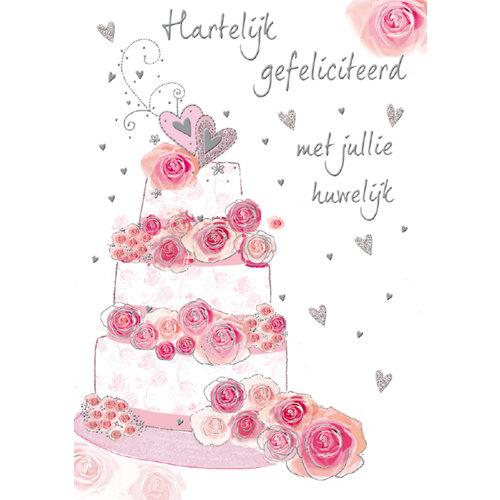 Hartelijk gefeliciteerd met jullie huwelijk