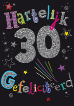 30 Hartelijk gefeliciteerd