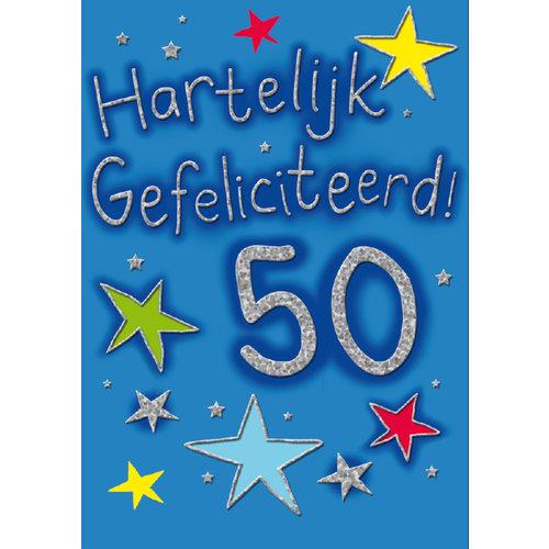50 Hartelijk gefeliciteerd