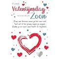 Fijne Valentijnsdag voor mijn zoon