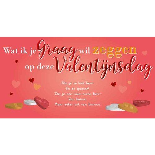 Wat ik je graag wil zeggen op deze Valentijnsdag