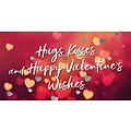 Hugs kisses and happy Valentine's wishes