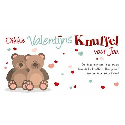 Dikke Valentijnsknuffel voor jou