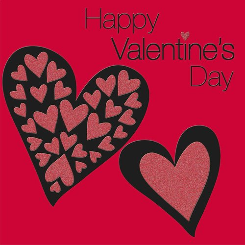 XL kaart - Happy Valentine's day