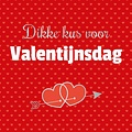 XL kaart - Dikke kus voor Valentijnsdag