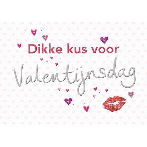 Dikke kus voor Valentijnsdag