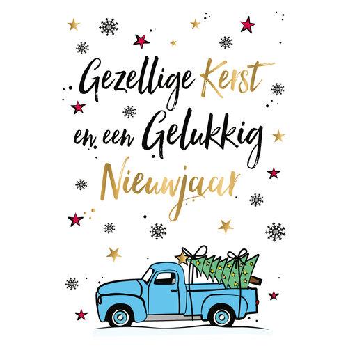 Gezellige kerst en een gelukkig nieuwjaar