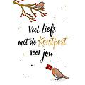 Veel liefs met de kerstpost voor jou