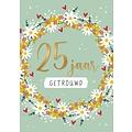 25 jaar getrouwd