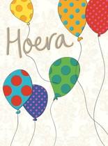 XL kaart - Hoera