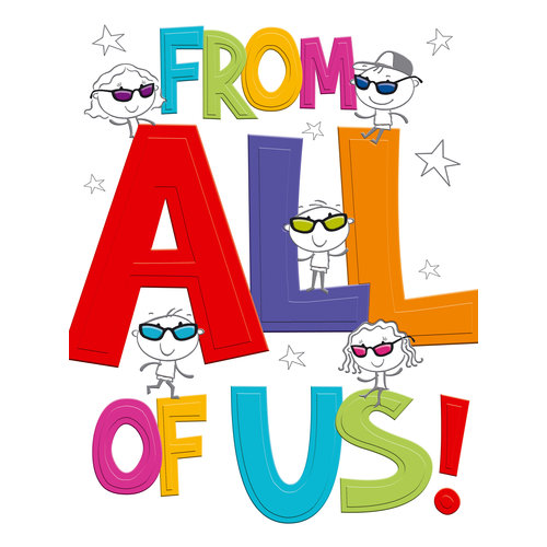 XL kaart - From all of us!