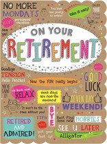 XL kaart - On your retirement