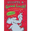 XL kaart - Goodbye & Good luck