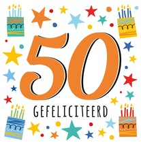 50 gefeliciteerd