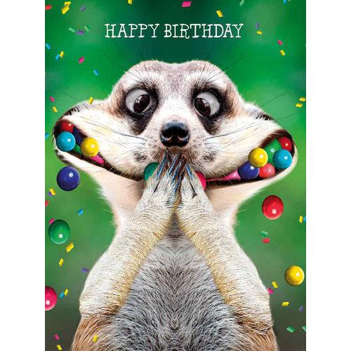 XL kaart - Happy birthday