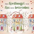Dikke kerstknuffel en een kus door de brievenbus