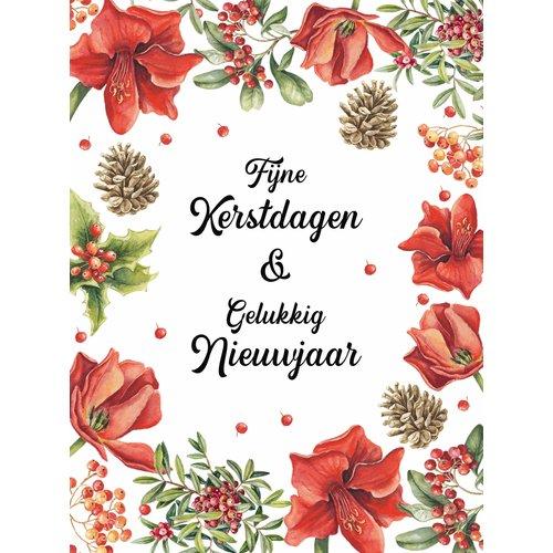 Fijne kerstdagen & gelukkig nieuwjaar