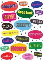 XL kaart - Goodbye