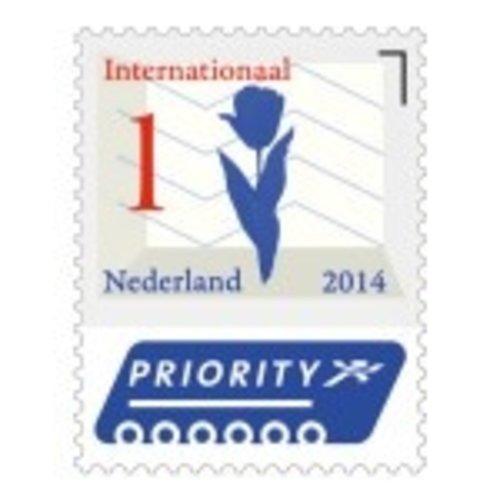 Postzegel 1 Internationaal: Vel à 5 stuks
