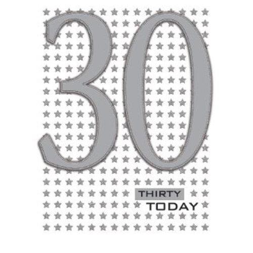 XL kaart -Thirty today