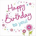XL kaart - Happy Birthday to you