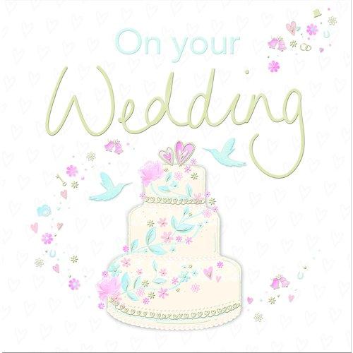 XL kaart - On your wedding