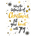 May the miracle of Christmas