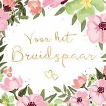 Minikaartje - Voor het bruidspaar