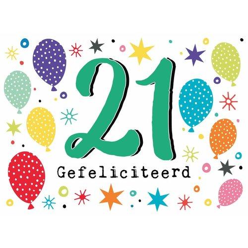 21 Gefeliciteerd