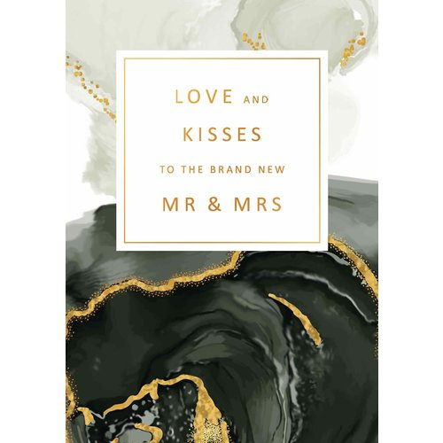 Love and kisses to the brand new MR & MRS