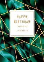 Happy birthday party like a rockstar