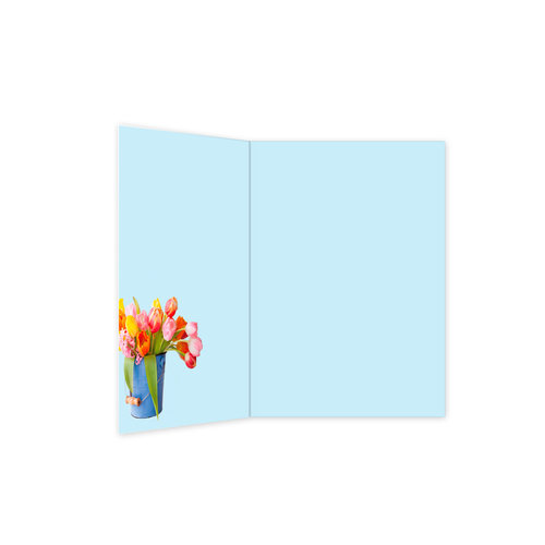 XL kaart - Bloemen
