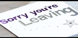Wat zet je op een afscheidskaart voor een collega?