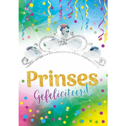 Prinses gefeliciteerd