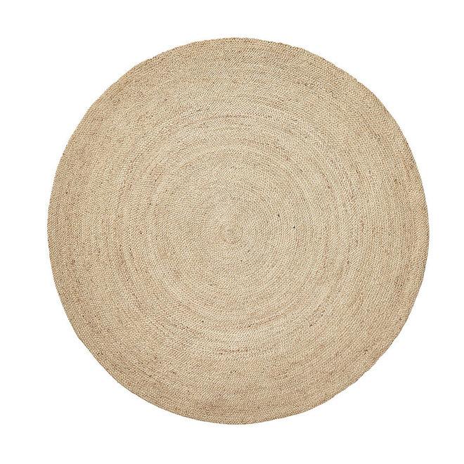 Rond vloerkleed jute Dia - 150cm