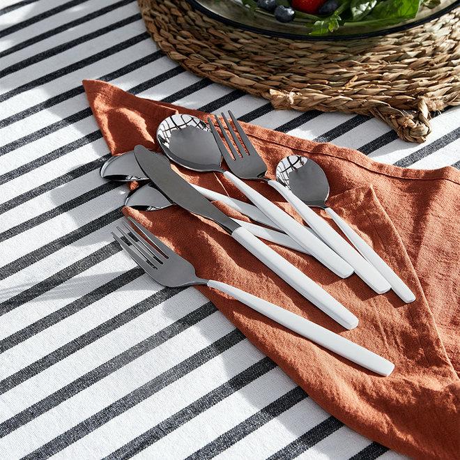 Luxe servet katoen linnen Terracotta
