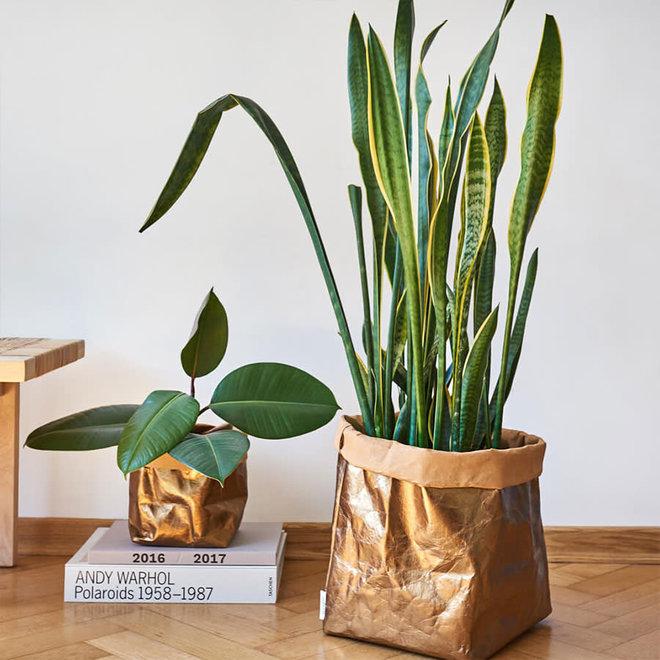 Paperbag-Goud-XL