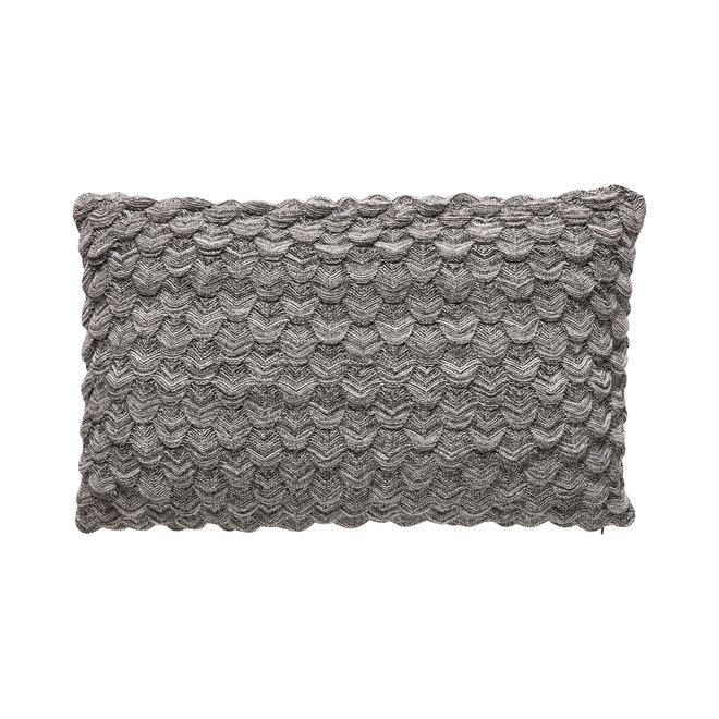 Sierkussen grijs - 50x80cm