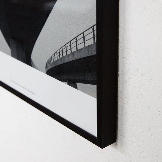 Poster Motives met lijst - zwart - 32x37cm