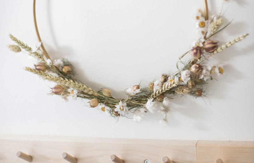 6x creatief met droogbloemen