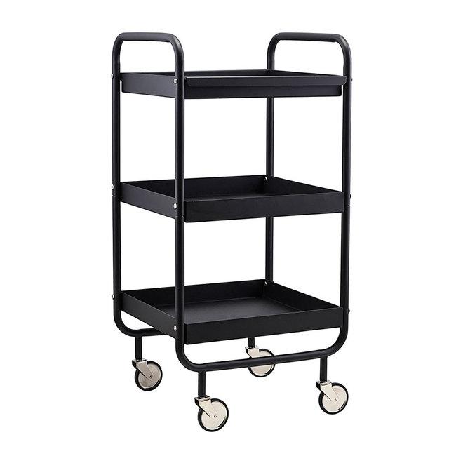 Trolley Roll - Zwart metaal