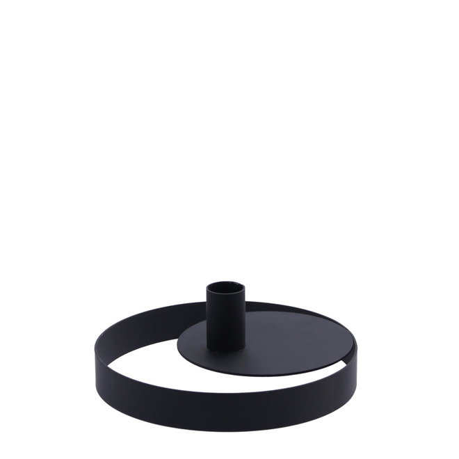 Kandelaar Ringamåla | zwart