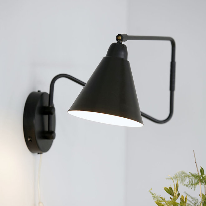 Wandlamp Game | black