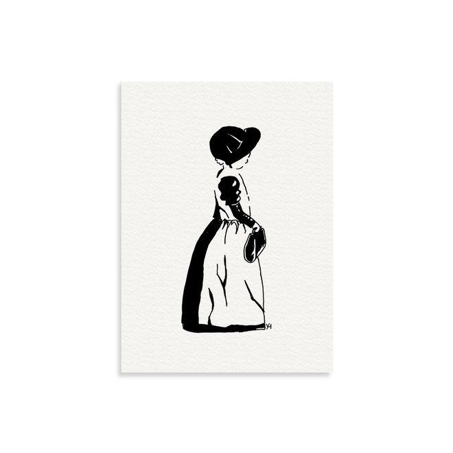 Art print | Spakenburgs meisje