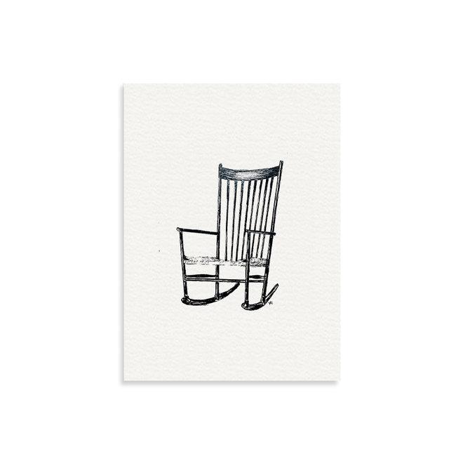 Art print | Retro Chair