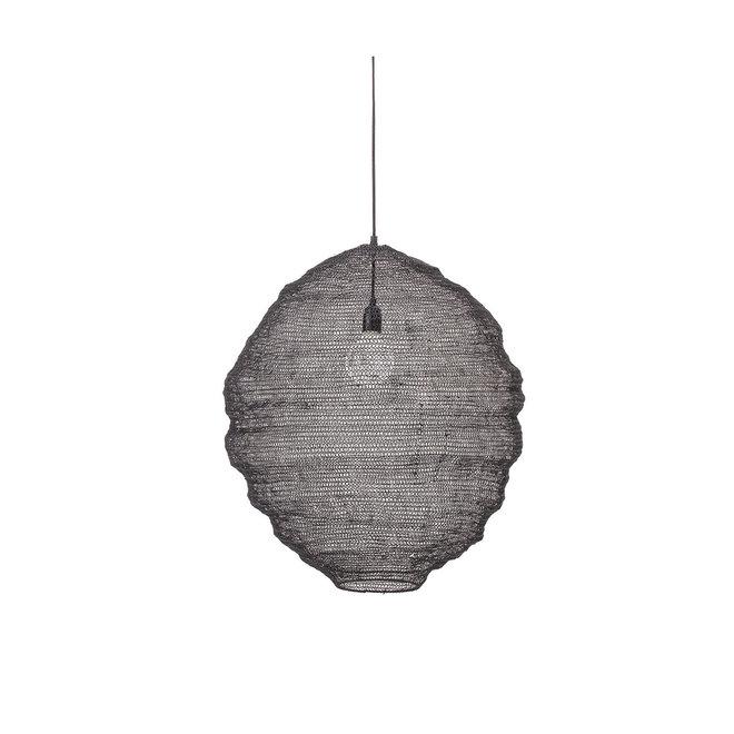 Hanglamp zwart metaal | dia 62cm