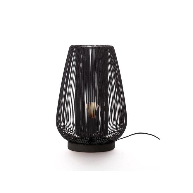 Tafellamp Linea | zwart metaal