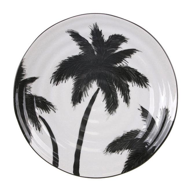 Porseleinen serveerbord Palms | 26.5cm
