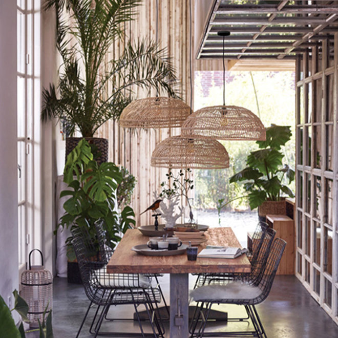 Hanglamp bamboe 60cm