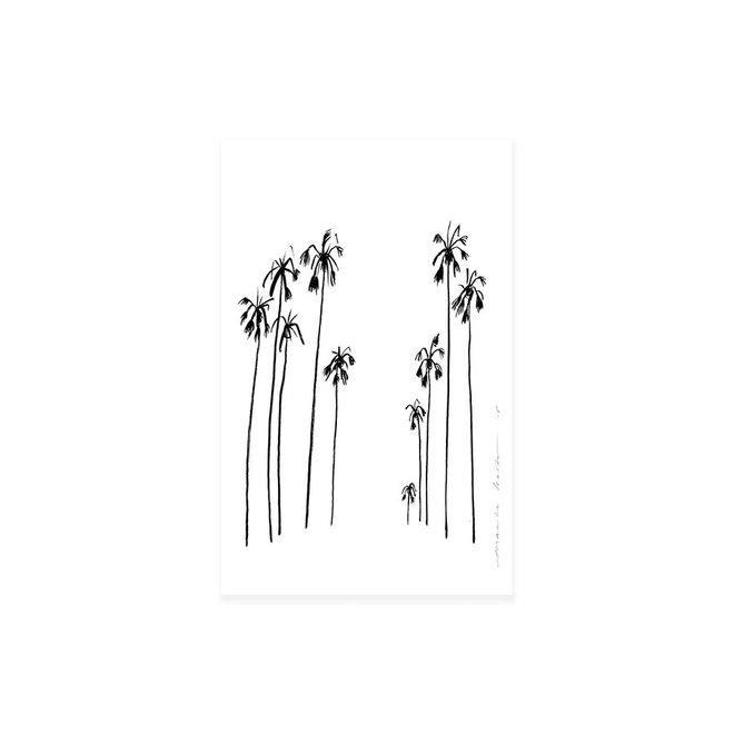 Mini print | Palms